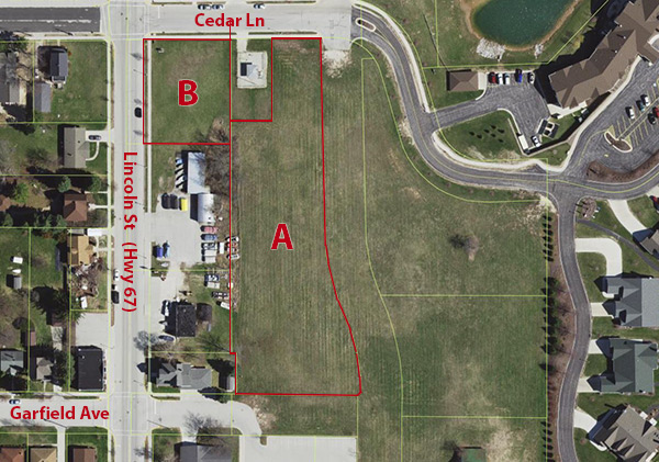 Elkhart Lake Commercial Land for Sale