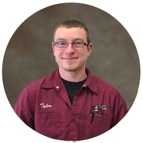 Tyler Feldmann Streets & Water Operator for the Village of Elkhart Lake
