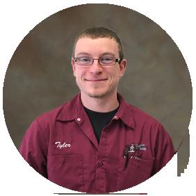 Tyler Feldmann Streets & Water Operator for the Village of Elkhart Lake